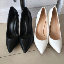 MAYA 2017 Sexy stilettos Spring pointer toe women shoes high heel Party ladies shoes size 43(China)