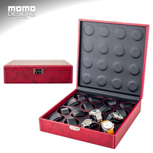 Leather watch box limitate Crocodile PU Watch storage box 16 watches case packaging box NEW STYLE