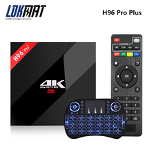 LOKMAT Original 2/3GB 16GB Ram/32GB Rom H96 PRO Plus Amlogic S912 Max Android 6.0 smart Octa Core Google TV Box Wifi HD(China)