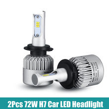 H7 9005/HB3 9006/HB4 H4 H1 H3 Led Car Bulbs 6500K White CSP Chips 50W Auto LED Headlight Kits H11 Fog Lamps All-in-one sp
