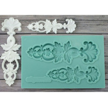 Yueyue Sugarcraft Newest Silicone mold fondant mold cake decorating tools chocolate gumpaste mold CK-SM-244