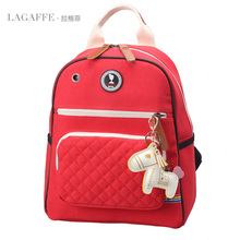 LAGAFFE High Quality Women Backpack Multifuctional Notebook Backpack Diaper Bag With Large Capacity Female Teenager School Bag