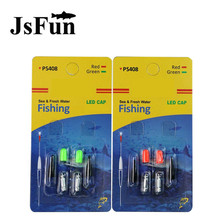 2Pack Electronic Fishing Float Battery CR311 for Night Fishing Electronic Luminous Float Battery Lightstick Dark Glow Stick L151