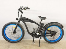 Hot 7 Speed 26*4.0 inch 48V 750Watt 16Ah Samsung cell Li  Ebike Merry Gold Hummer 2.0 Electric Mountain Bike Bicycle