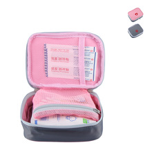 Creative Mini Makeup Bag Outdoor First Aid Kit Bag Travel Portable Medicine Package Emergency Kit Bags Medicine Storage Bag(China)