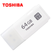 TOSHIBA USB Flash Drive Disk 16G 32G 64G 128G USB 3.0 Metal Mini Pen Drive Pendrive Memory Stick Storage Device