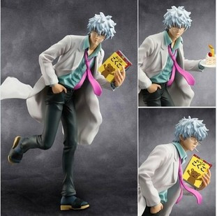 High Quality!!!MegaHouse Silver Soul Gin Tama Gintama Sakata Gintoki 22cm PVC Action Figure Collectible Toy Doll Christmas Gifts<br><br>Aliexpress