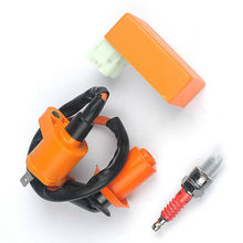 For Honda ATC XR CRF TRX 50cc 70cc 125cc 250cc 300cc Gy6 Racing CDI Ignition Coil Plug