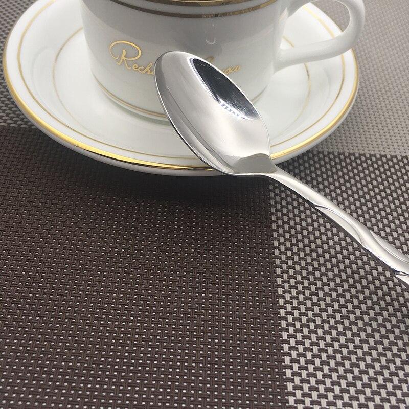 stainless steel teaspoon  (6)