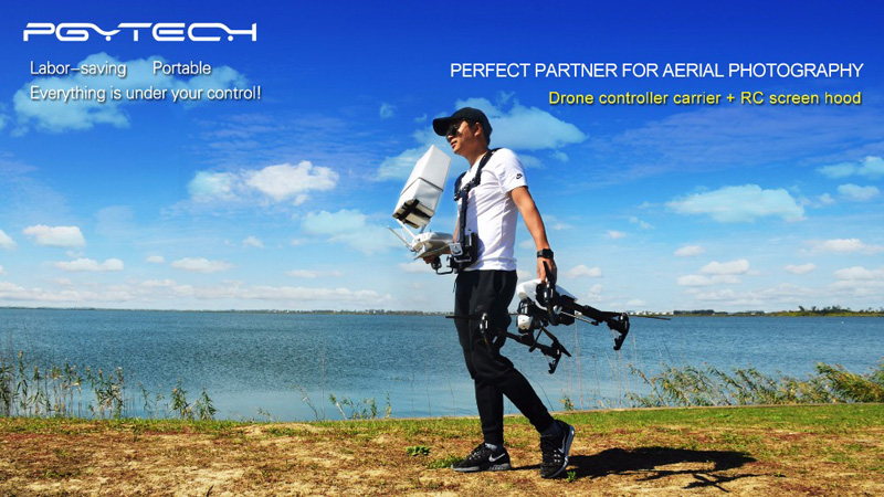 Remote Controller Carrier Shoulder Holder for Phantom 4 Series Inspire 1 Ronin M Remote Control Support Accessories PGYTECH