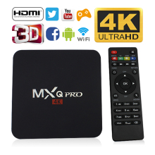 TV BOX RAM RK3229 PROKER MXQ PRO 1G RAM +8G ROM Android TV Box HDMI H.265 4K WIFI IPTV Media Player(China)