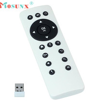 Mosunx Top Quality 2.4G Mini Fly Air Mouse Remote Controller Multi-media Entertainment Keyboard For Android TV Box MAY13