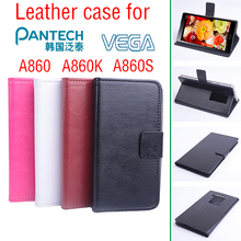 Phone case for Pantech VEGA A860 case Flip Business Style Case Cover Skin Shell.(China)