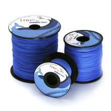 Emmakites 350lb Braided Line 1mm UHMWPE Fiber Large Stunt Power Kite Flying String Strong Salt Water Fishing Line Camping Rope(China)