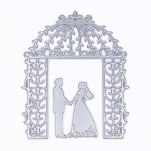 Bride Groom Wedding Cutting Dies Stencil for DIY Scrapbooking Album Decorative Embossing Folder Suit DIY Paper Cards
