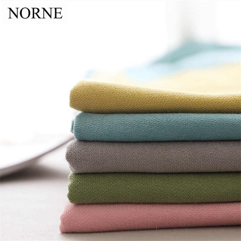 NORNE Soft Solid Thermal Insulated Window Room Darkening Curtains Drape Blinds Panel for Girl's Bedroom Living Room Curtain