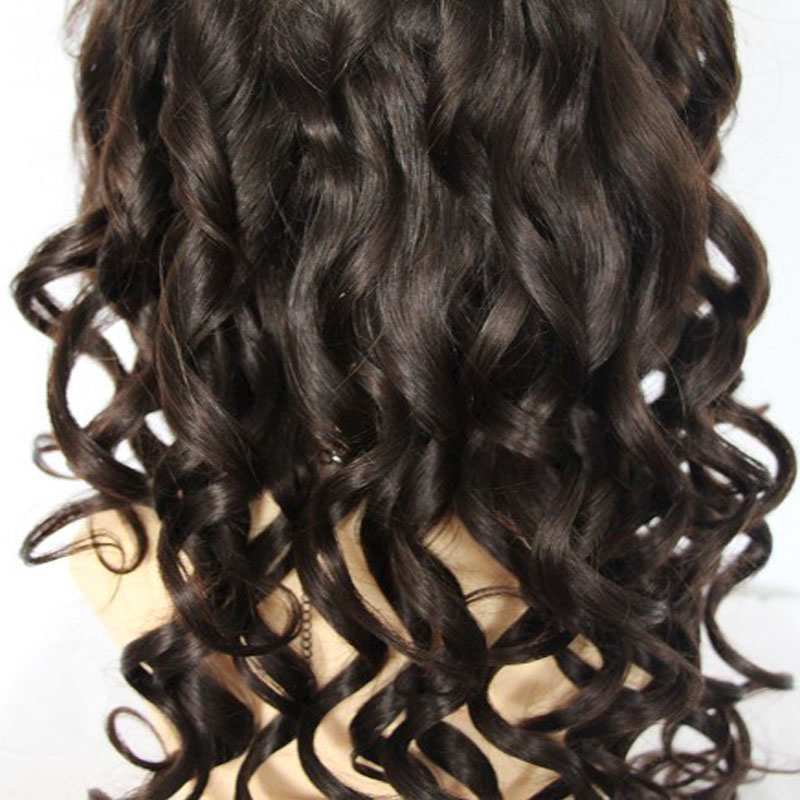 Loose Wave Indian Virgin Human Hair Wigs Free Part Full Lace Human Hair Wigs For Black Women Indian Hair Wavy Lace Front Wig<br><br>Aliexpress