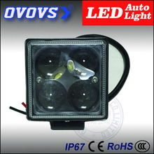 OVOVS factory price hot sale cheap 4d 3 inch 12w led work light for truck offroad atv