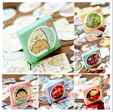 Special offer,DIY Scrapbooking Stickers Set Christmas Paper Kawaii Diary Birthday Vintage Album Decoration Sealing Stickers(China)