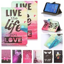 HISTERS Printed Cover for Acer Iconia Tab 10 A210 A211 10.1 inch Tablet Universal PU Leather Stand Case(China)