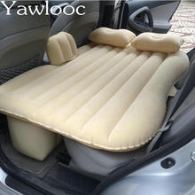 Yawlooc Car Styling Car Back Seat Cover Car Air Mattress Travel Bed Inflatable Mattress Air Bed Good Quality Inflatable Car Bed