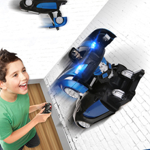 Children's toys, Transformation electric remote control wall climbing car, wireless electric remote control cars, RC Cars
