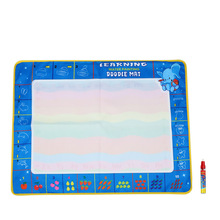 80 * 60 CM Non-toxic Drawing Board Water Drawing Mat With Magic Pen Board Painting and Writing Doodle for Baby Kids Drawing Toys(China)
