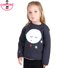Campure 1-5Yrs Baby Boys Girls Sweater High quality Bobo Smiling face Casual England Kit Children Clothing Boys Girls Clothes(China)