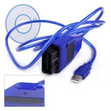 VAG COM 409.1 OBD2 USB KKL Interface Cable Diagnostic Scanner VCD Software for VW Audi Skoda Seat J1962 16-Pin Male