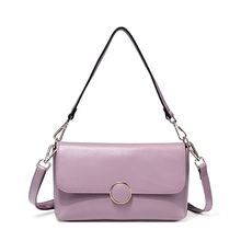 28*17*9 cm, Everyday Flap Messenger, Women Genuine Leather Shoulder Bag, Lady 100% Natural Cowhide Cross body Bag, P037