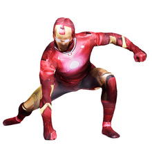 Iron Man Costume Adult Superhero Cosplay Costume Iron Man Zentai Suit Halloween Cosplay Costume Male Ironman Cosplay