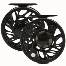 Fly Fishing Reel CNC Machine Cut 7/8WT Fly Fishing Reel Large Arbor Aluminum Fly Reel Top Fly Fishing Reel