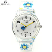 WILLIS fashion women watches silicone wristwatch mixed colors lover's watch women sport plastic clock Children's silicone watch(China)