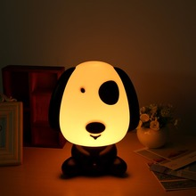 Pretty Cute Panda Cartoon Animal Night Light Baby Room Sleeping Light Bedroom Desk Lamp Night Lamp Best for Kids Gifts Rabbit(China)