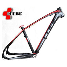 Cube reaction 14 high quality aluminum alloy 26 27.5 29 17 16 inch light weight Tapered headset tube mountain bike frame