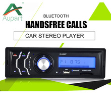 Multifunction Autoradio 1Din 4Channel Car FM Radio Audio Stereo In Dash MP3 Player Hands-free Bluetooth Aux Input Receiver USB(China)