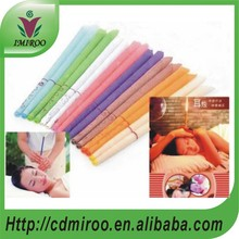 100 pairs Eight kinds of color and efficacy 100% beeswax ear candle(China)