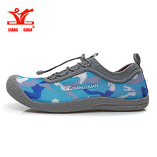 Xiang guan 2016 Summer mens Running Shoes Camouflage Breathable Walking Shoes Man Lazy Shoe Cheap Online Sale EUR size 36-44(China)