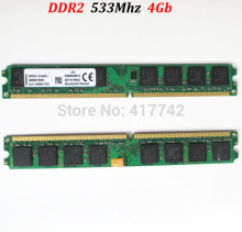 8Gb memoria RAM DDR2 533 4Gb / PC2-4200  PC2 4200 4G 533Mhz ddr 2 4g 4 gb  ( for AMD for Intel )-- lifetime warranty