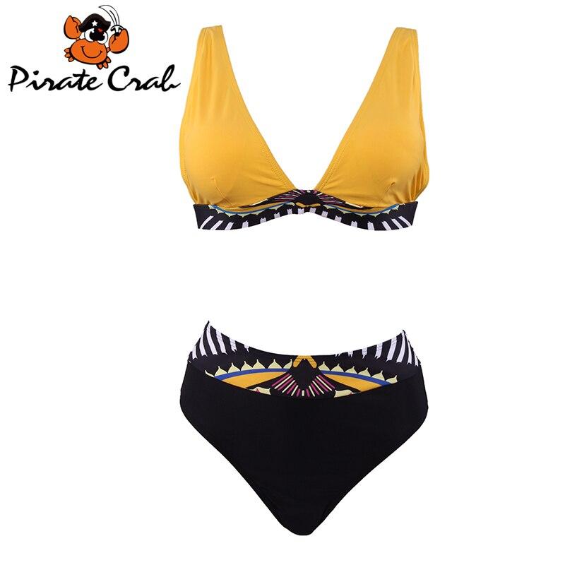 2017 Beautiful Swimwear Yellow Brazilian Bikini Swimsuit Strappy Biquinis Sexy Women Swimming Suit Beach Wear Bikinis Set<br><br>Aliexpress