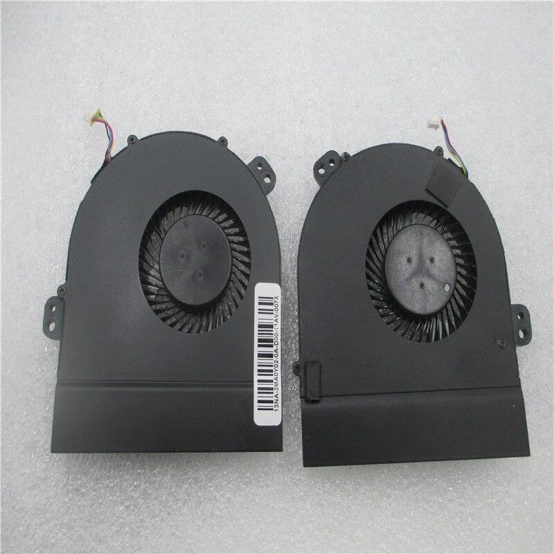 Brand New Original CPU fan for Dell Alienware 15 R1 laptop cpu cooling fan cooler DC28000FDF0 DP/N 09M2MV DFS200805000T FG23<br>