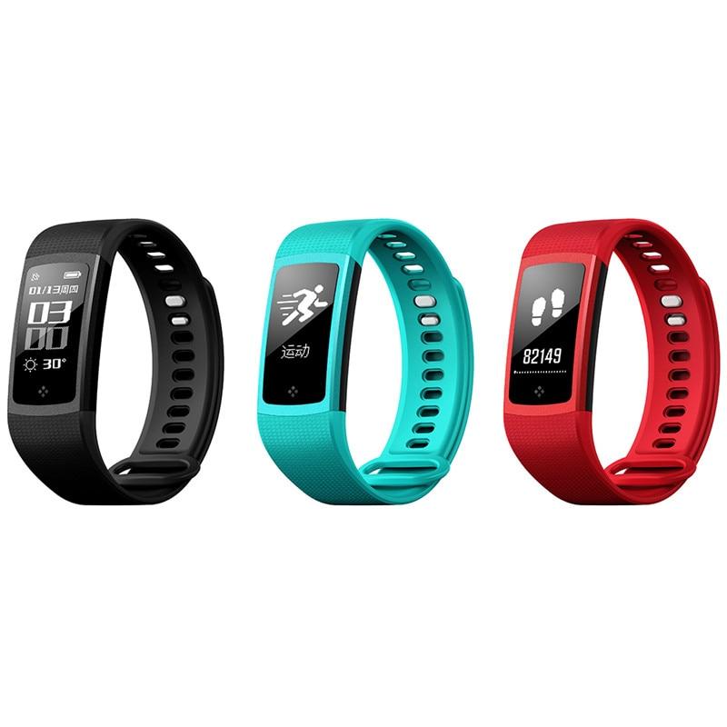 Trozum s8 intelligent bracelet tactile screen blood pressure oxyen get sport fitness tracker smart band push message