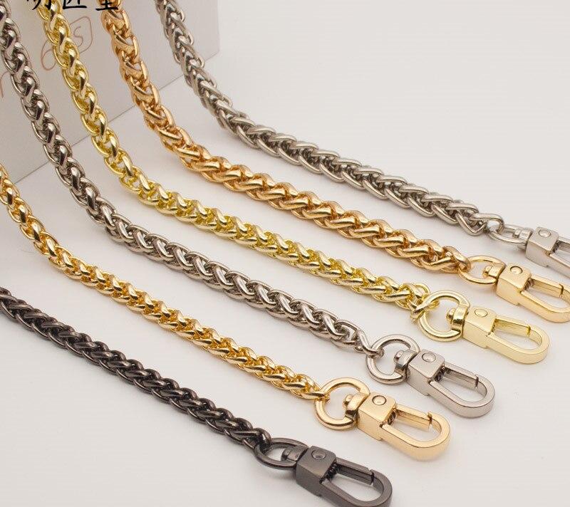 woman fashion bags accessory chain fashion new wallet accessroies chain handbag Solid Chain handle shoulder bag strap (12)