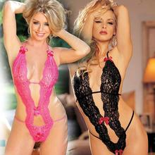 2017 Hot Sale Sex Products Sexy Costumes Women Underwear Female Sexy Lingerie Transparent Conjoined Dress Suit Leotard Intimates