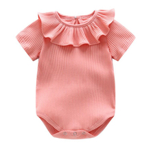 bibicola Baby Rompers Newborn Baby Boy Girls Clothes Short Sleeve Baby Clothing Girl R Body Rompers Toddler   Jumpsuit