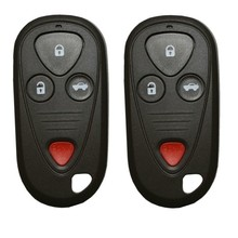 KEMANI 2 pcs/lot Keyless Entry Remote Key Fob Shell Case 4 buttons for Honda Acura TSX TL RL CL car styling