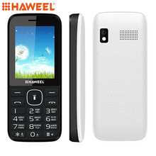 Russian Keyboard Haweel X1 Cell Phone Elder Phone 2.4 inch Dual SIM Super Big Speaker Support FM TF Torch MP3 1500mAh