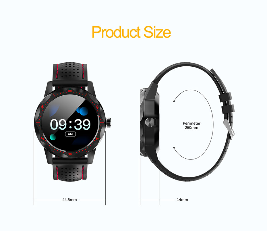COLMI SKY 1 Smart Watch Men IP68 Waterproof Activity Tracker Fitness Tracker Smartwatch Clock BRIM for android iphone IOS phone 15