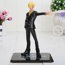 16cm New World the Sanji Two Years Later One Piece Action Figures PVC Tos Doll Model