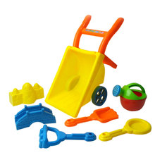 New High Quality Beach Wheelbarrow Toy Set Random Color Baby Classic Toys for Children Kids Play Baby Fun Games Birthday Gift
